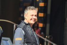 Mario Isola is expecting two or more stops this weekend in Bahrain