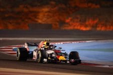Max Verstappen crashed during Q1