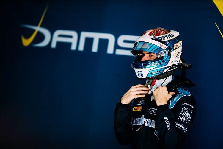 Nicholas Latifi has been confirmed to race for DAMS in 2018