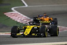 Nico Hulkenberg finished sixth in Bahrain
