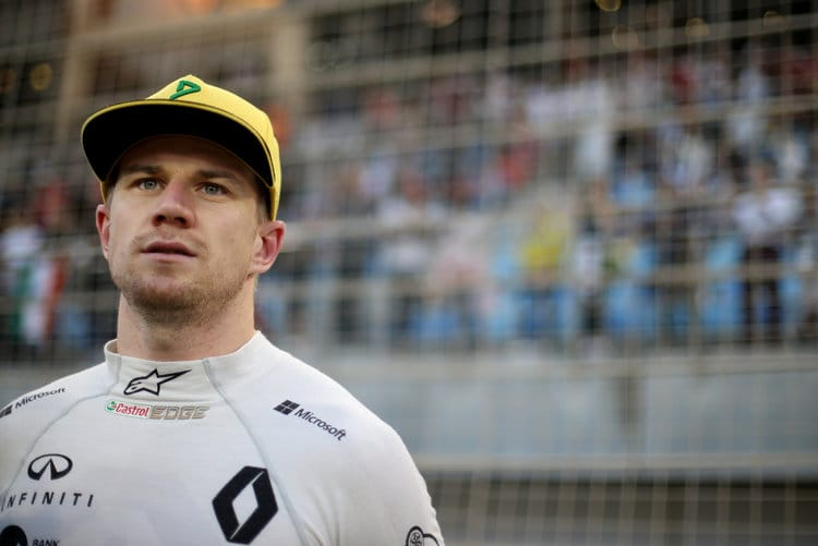 Nico Hulkenberg is aiming for a third top ten of the season in China this weekend