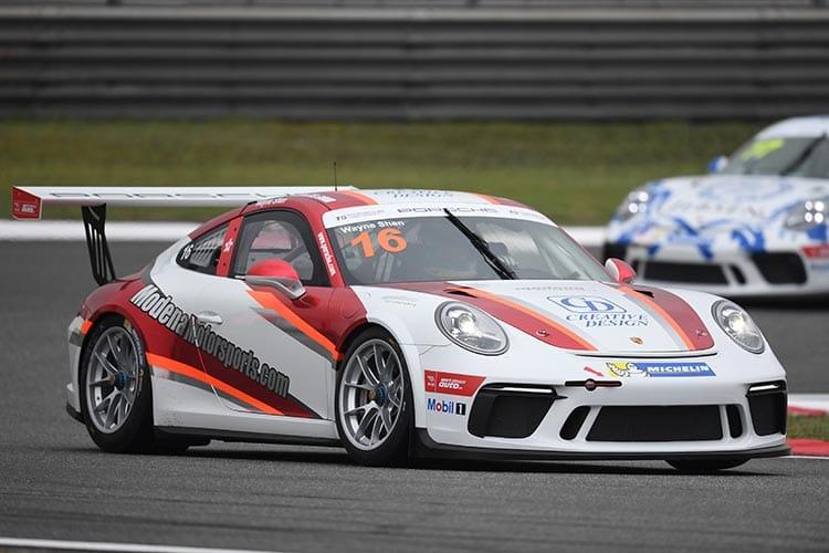 Wayne Shen - Porsche Carrera Cup Asia
