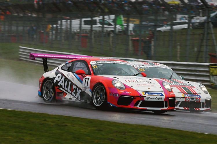 George Gamble - Amigos Team Parker Racing - Brands Hatch Indy - 2018 Porsche Carrera Cup GB