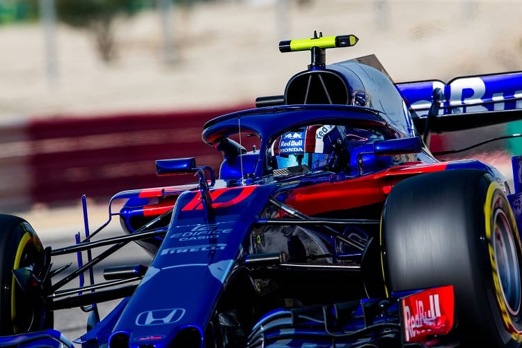 Pierre Gasly will start fifth in Bahrain
