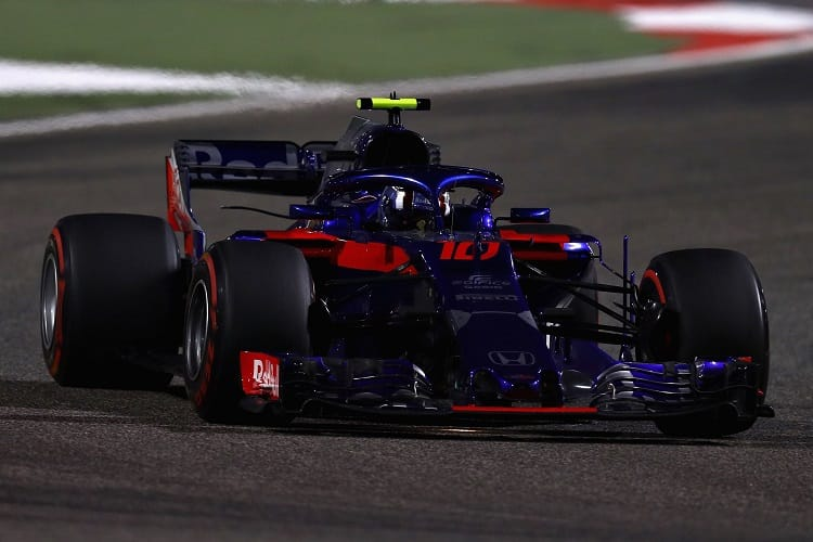 Sergio Perez and Brendon Hartley sanctioned for formation lap transgression