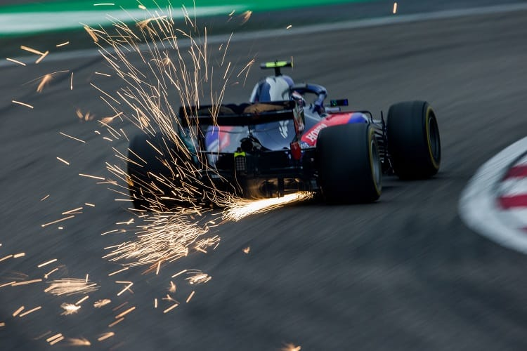 Pierre Gasly - Red Bull Toro Rosso Honda