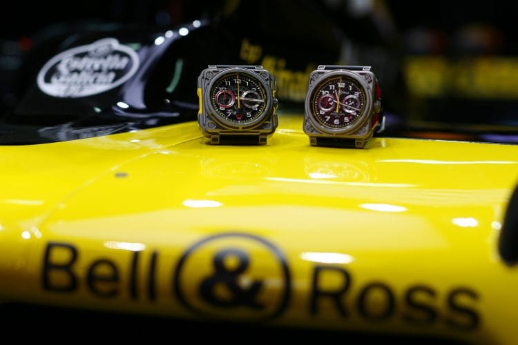 Renault and Bell & Ross watches