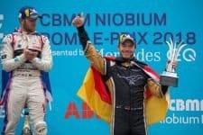 Andre Lotterer, Techeetah Formula E, 2018 Rome ePrix Podium