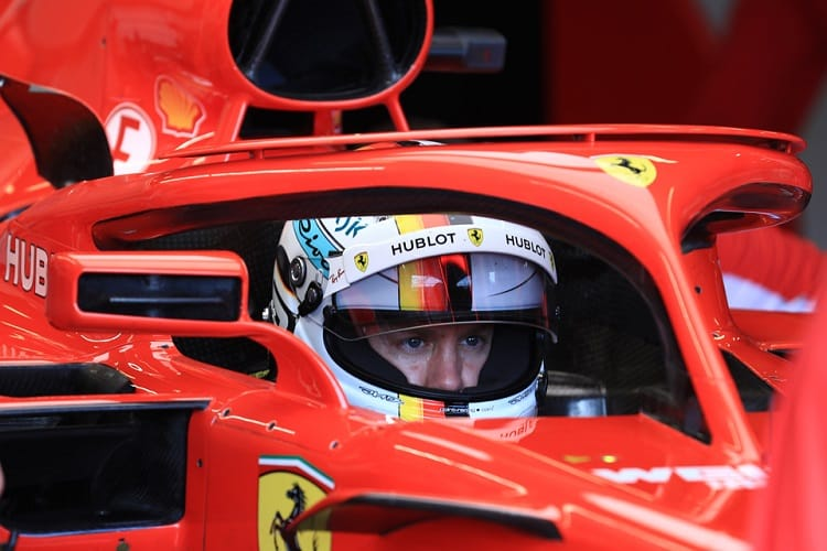 Sebastian Vettel is looking for victory in Bahrain