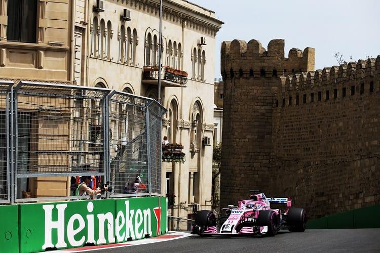 Sergio Pérez - Sahara Force India F1 Team