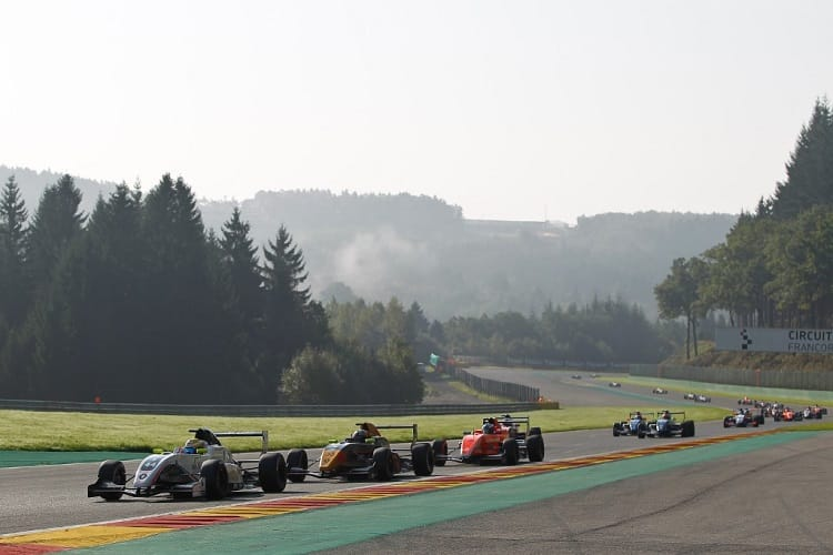 Three NEC rounds will now share track time with Eurocup
