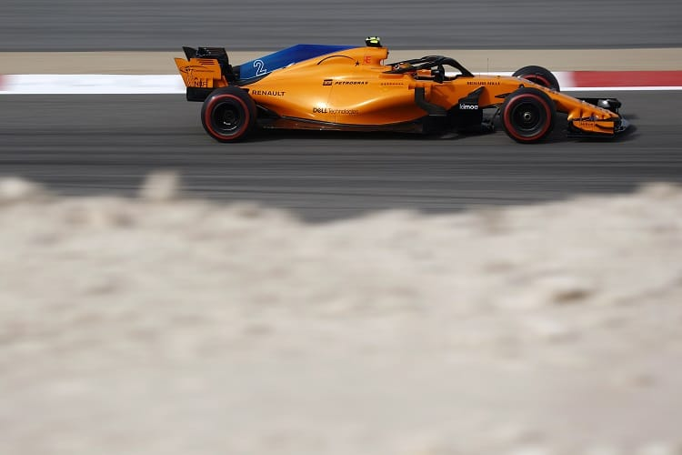 Stoffel Vandoorne ended P10 in FP2
