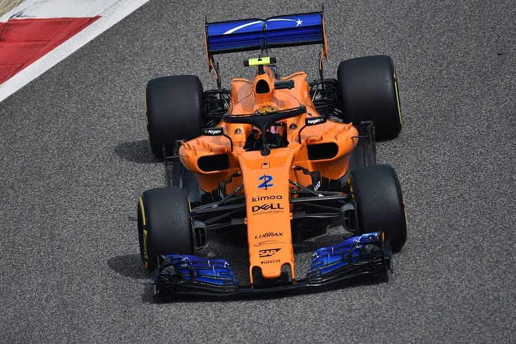 Stoffel Vandoorne will start P14 in Bahrain