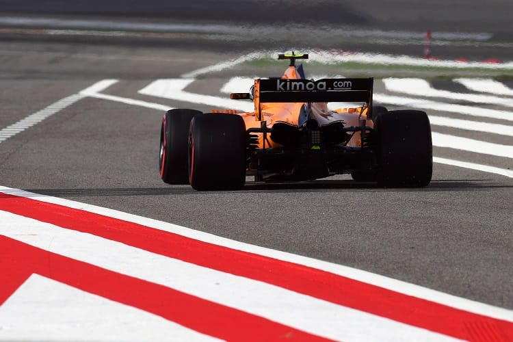 McLaren has 22 points after 2 rounds in 2018