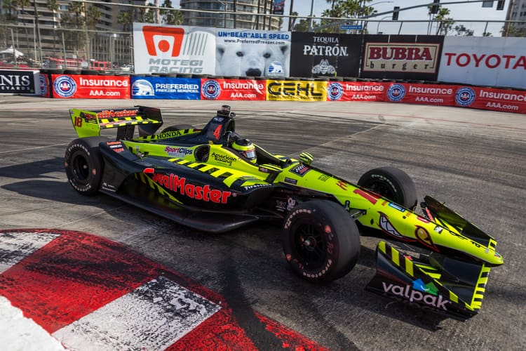 Sebastien Bourdais (FRA), Dale Coyne Racing with Vasser Sullivan, 2018 Verizon IndyCar Series, Long Beach