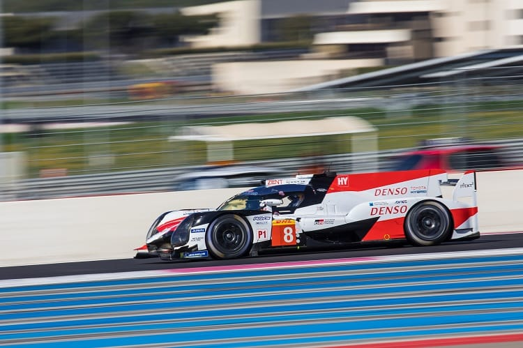 Sebastien Buemi was fastest at the halfway point, four seconds clear of the LMP1-Privateers