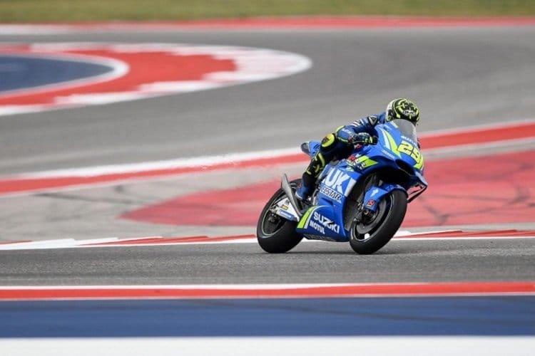 Austin MotoGP: Marquez leads Vinales in warm-up