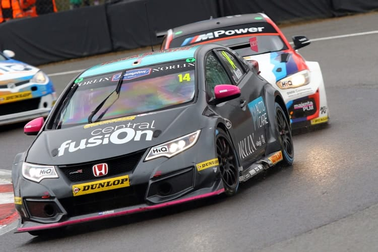 James Nash Enjoys Return To Btcc At Brands Hatch The