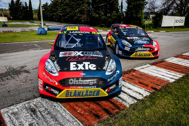 olsbergsmse unveil 2018 world rx ford fiesta the checkered flag. Black Bedroom Furniture Sets. Home Design Ideas