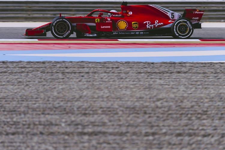 Vettel in Bahrain
