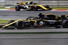 Nico Hulkenberg and Carlos Sainz Jr. - Renault Sport Formula One Team