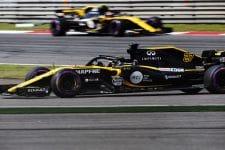 Nico Hulkenberg and Carlos Sainz Jr. - Renault Sport Formula One Team