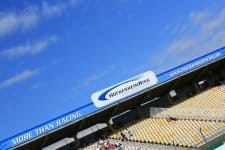 Empty seats at the Hockenheimring