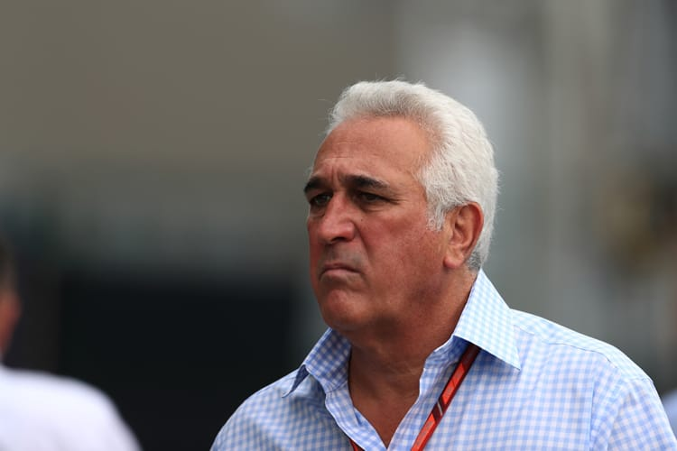 Lawrence Stroll goes for a walk