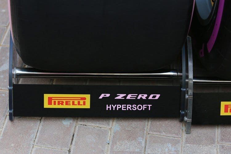 A Hypersoft tyre