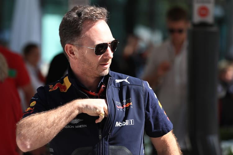 Christian Horner takes Red Bull's 150th podium and puts it in his pocket