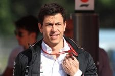 Toto Wolff has a wander
