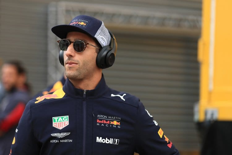 Daniel Ricciardo looks cool, as ever