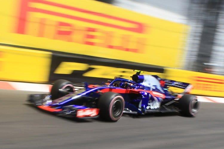 Pierre Gasly at Monaco