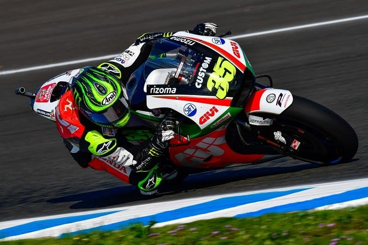 Cal Crutchlow wins MotoGP pole position for Spanish GP
