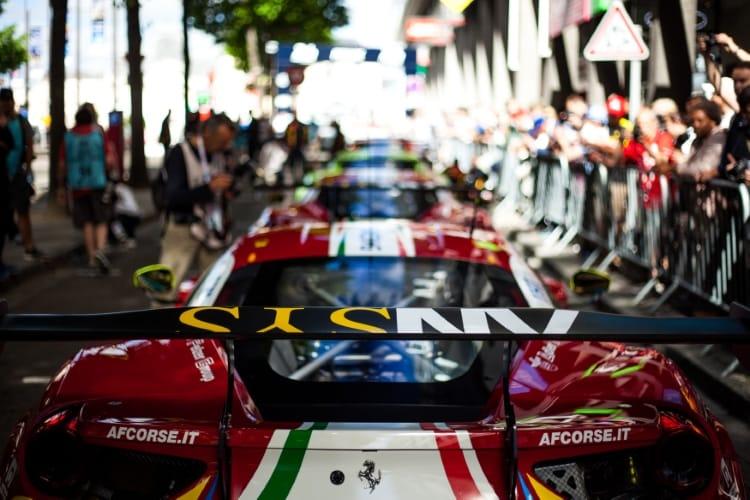 #71 AF CORSE / ITA / Ferrari 488 GTE - Le Mans 24 Hour - Place de la RŽpublique - Le Mans - France