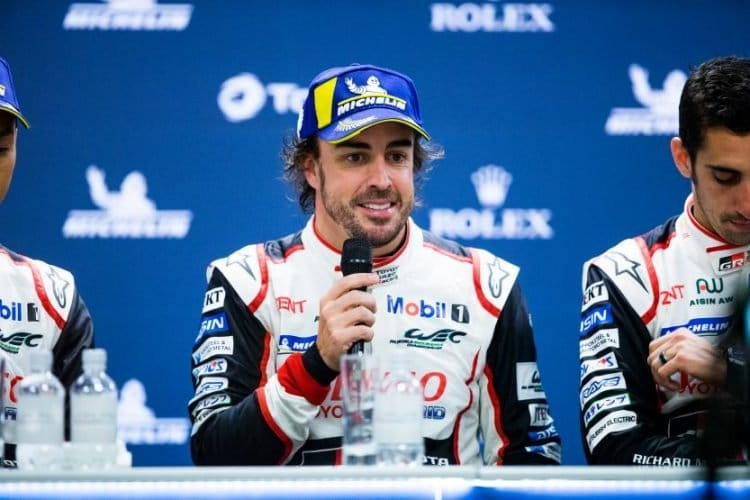 TOYOTA GAZOO RACING / Fernando Alonso (ESP) -Total 6 hours of Spa Francorchamps