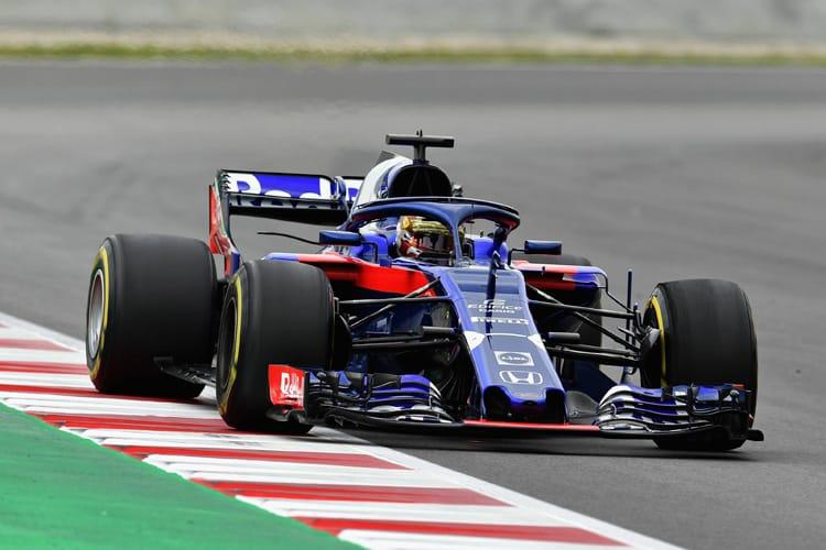 Sean Gelael - Red Bull Toro Rosso Honda