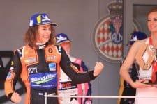 Alex Peroni, MP Motorsport- Monaco Podium