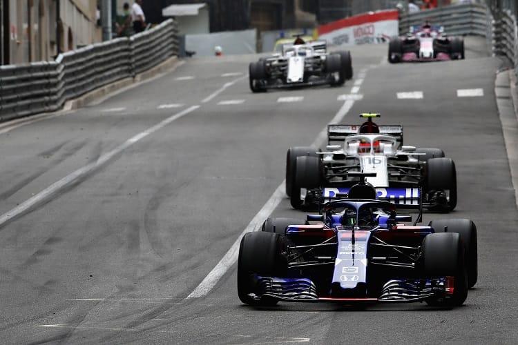 Brendon Hartley / Charles Leclerc - Red Bull Toro Rosso Honda / Alfa Romeo Sauber F1 Team