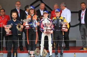 Charles Milesi, Formula Renault 2.0 Eurocup Race 2 Podium