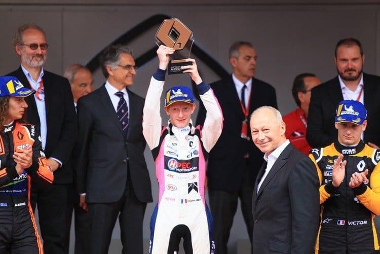 Charles Milesi, Monaco race two podium