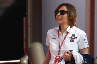 Claire Williams - Williams Martini Racing