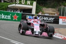 Esteban Ocon - Sahara Force India F1 Team