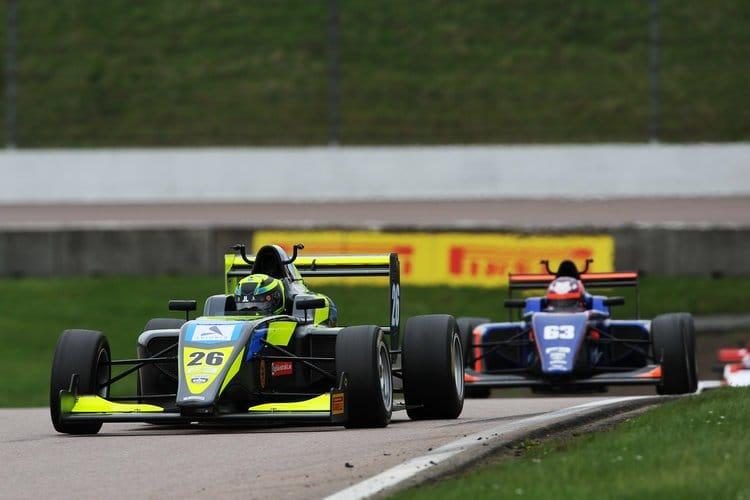 Linus Lundqvist - Double R - Rockingham BRDC British F3