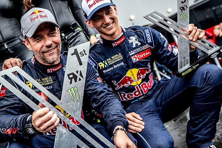 Sébastien Loeb / Timmy Hansen - Peugeot Sport 208 WRX - Mettet Belgium