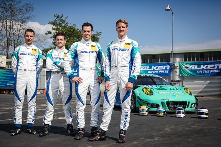 Klaus Bachler (A), Martin Ragginger (A), Sven MŸller (D), Dirk Werner (D), Falken Motorsports