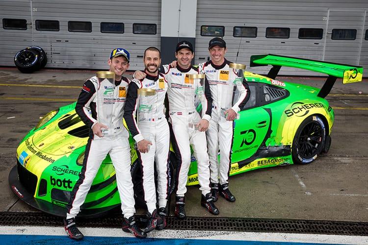 Nick Tandy (GB), Frederic Makowiecki (F), Richard Lietz (A), Patrick Pilet (F), Manthey-Racing