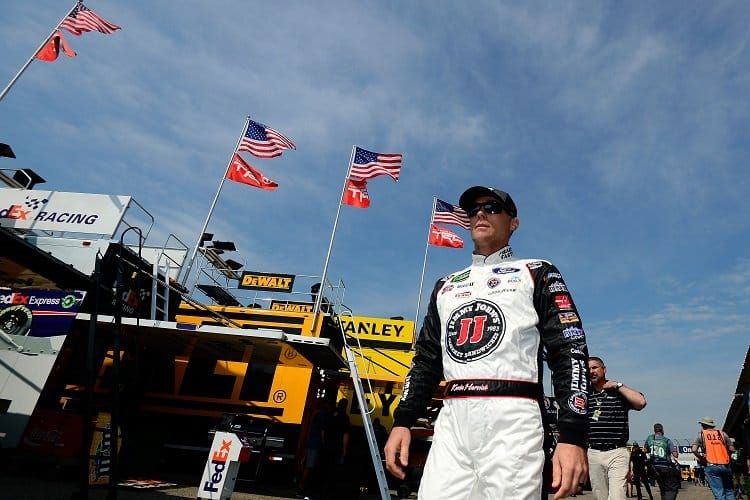 Kevin Harvick Sweeps Stages Wins Fourth Race Of 2018 In