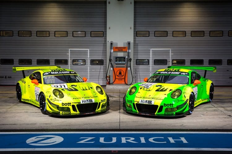 Forty,three Porsche Take On The \u0027Ring for 24 Hours