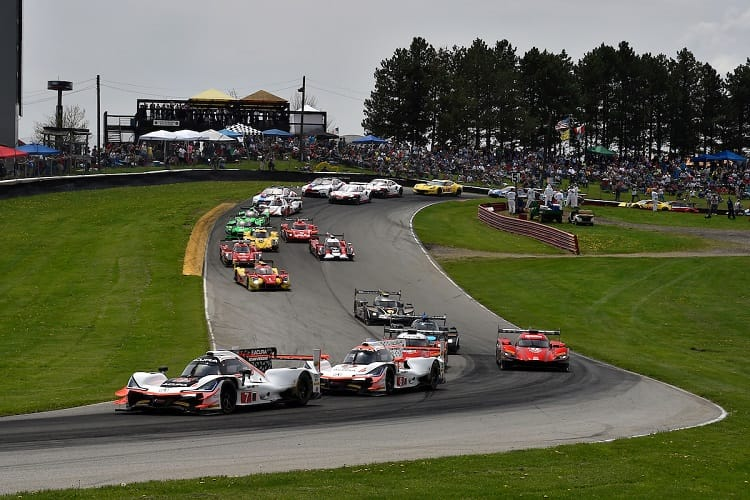 Mid-Ohio Race Start